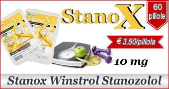 Stanox Stanozolol 10mg